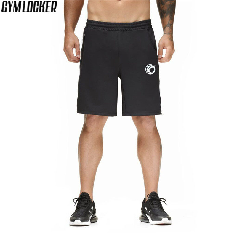 NEW gyms Joggers Sportswear men Beach Shorts slim fit Sexy fashion Sweatpants short pants mens Casual Bodybuilding clothing