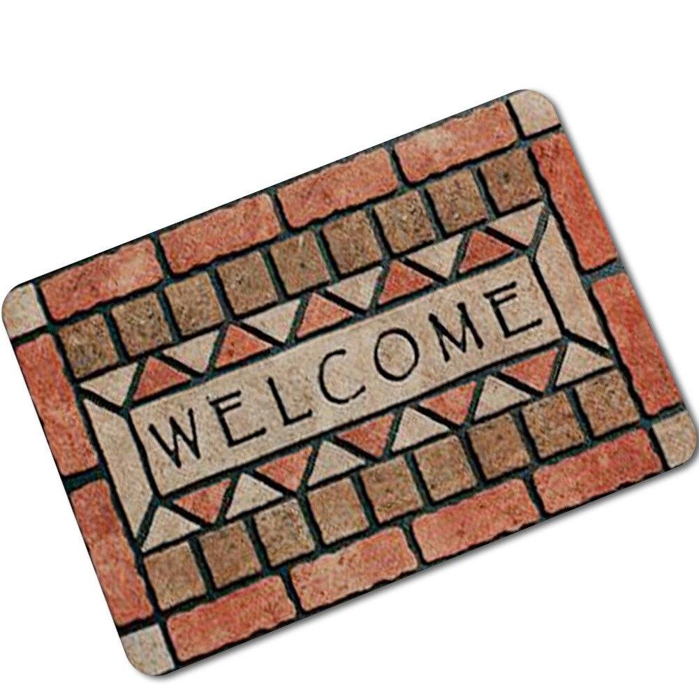 Popular 225 list outdoor door mats for Welcome home front door mats