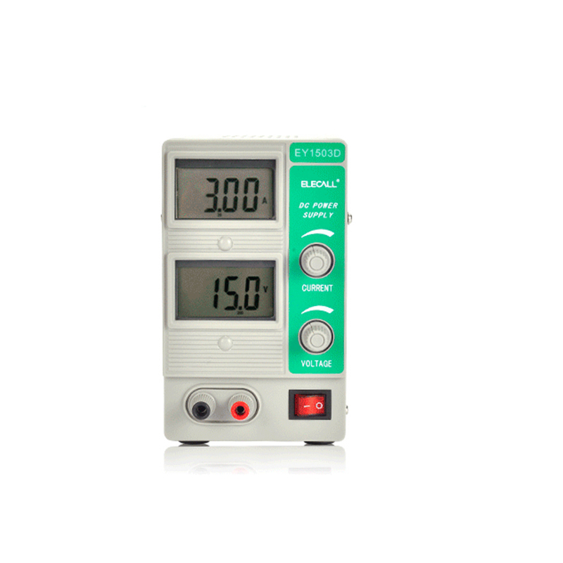 EY1503D Switching Regulated Adjustable DC Power Supply Single Channel 15V 3A Variable Digital Display SMPS цена и фото