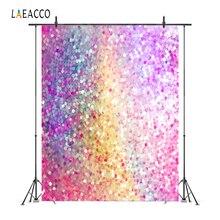 Laeacco Light Bokeh Glitters Dreamy Portrait Wedding Photography Backgrounds Customized Photographic Backdrops For Photo Studio