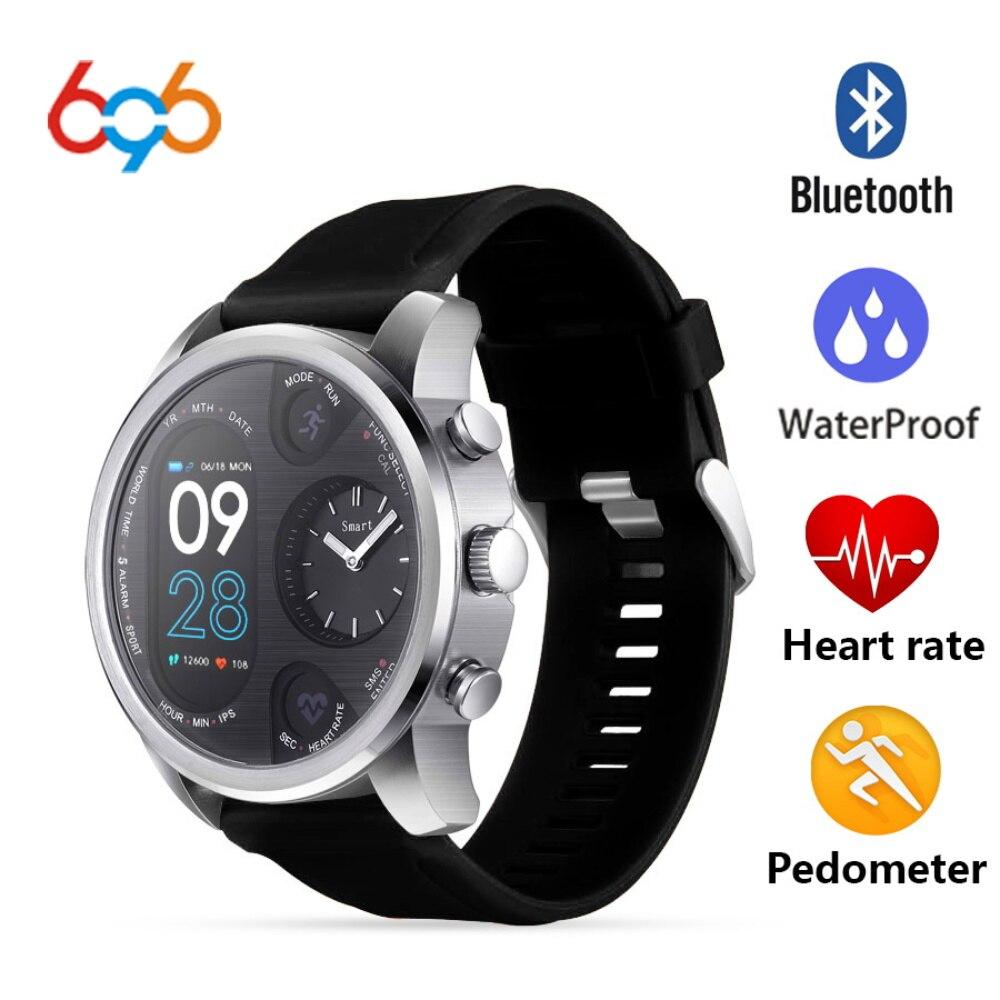 696 nouveau T3 montre intelligente pression artérielle moniteur de fréquence cardiaque podomètre Fitness IP68 étanche hommes Sport Bracelet pour iphone Android