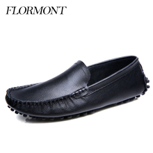 Spring Genuine Leather Men Flats Waterprootf Sapatos Masculino Summer Driving Shoes Loafers Men Casual Shoes Male Moccasins Men