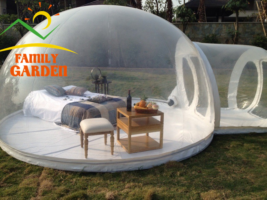 Online buy wholesale inflatable bubble room from china Tent a house