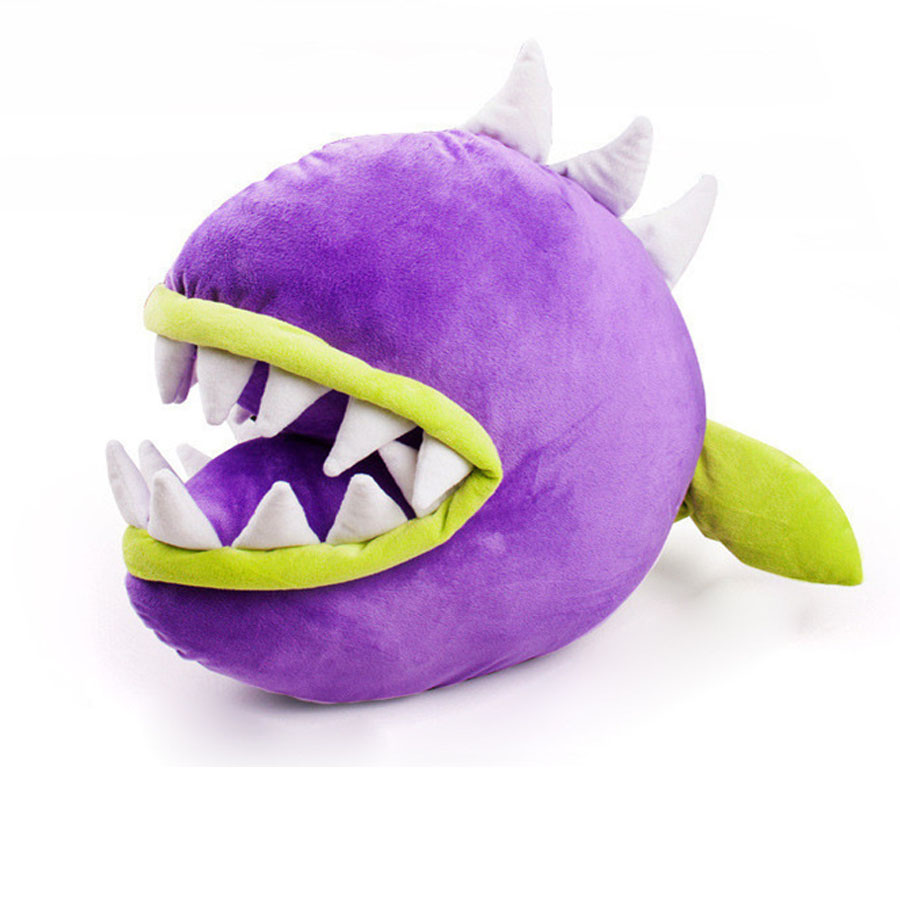 45cm Plants vs Zombies Piranha stuffed plush decorations toy 2016 New Plants vs.Zombies 3 pea sunflower Magnetic mushroom doll hot plants vs zombies plush doll toys 30cm pea shooter sunflower squash stuffed doll figures toys children kids gift