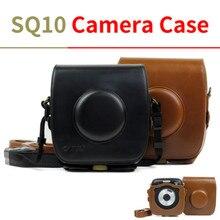 Для FUJIFILM Instax SQUARE SQ10 сумка для камеры Винтажный чехол из искусственной кожи сумка на плечо с защитный ремень Чехол