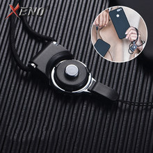 Mobile Phone Strap For iPhone XS MAX neck lanyard neckband Squishy Multi-function Lanyard Neck Hanging Strap Phone Hanging Rope(China)