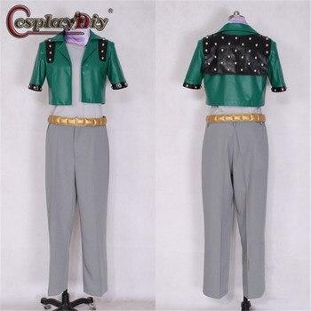Cosplaydiy JoJo's Bizarre Adventure Caesar Anthonio Zeppeli Cosplay Costume Men Halloween Party Outfits Custom Made