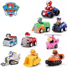 New Paw Patrol dog Puppy Patrol Car toy Everest Patrulla Canina toy Action Figures Model anime figure toy for children Best Gift