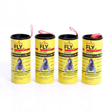 4 Rolls of Flies Sticky Paper To Eliminate Flies Mosquito Glue Paper Efficient Insecticidal Paper Family Outdoor Products(China)