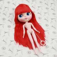 送料無料ヌードブライス人形 J230NY0115 赤髪前髪の有無にかかわらずノーマルボディ 1/6 おもちゃギフト