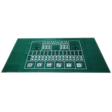 180X90Cm Poker Table Cloth Texas Hold'Em Poker Layouts Tablecloth Felt 10 Players Poker Mat / Ta-pis Poker цена в Москве и Питере