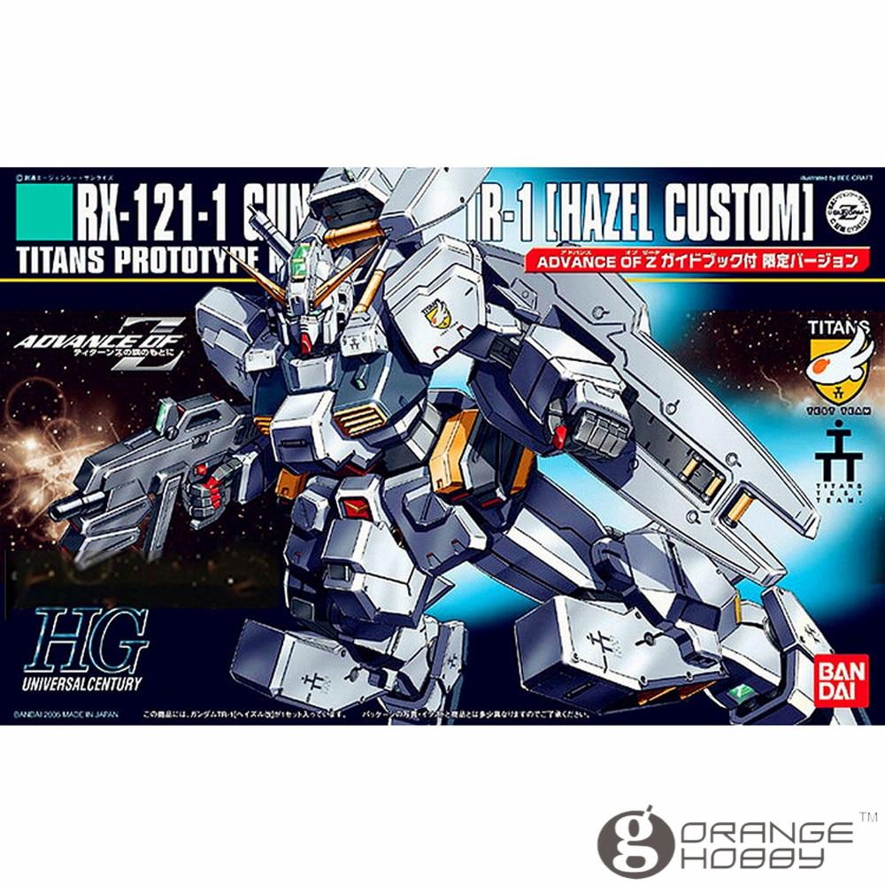 OHS Bandai HGUC 056 1/144 RX-121-1 Gundam TR-1 Hazel Custom Mobile Suit Assembly Model Kits bandai bandai gundam model sd q version bb 309 sangokuden wu yong bian xiahou yuan battle