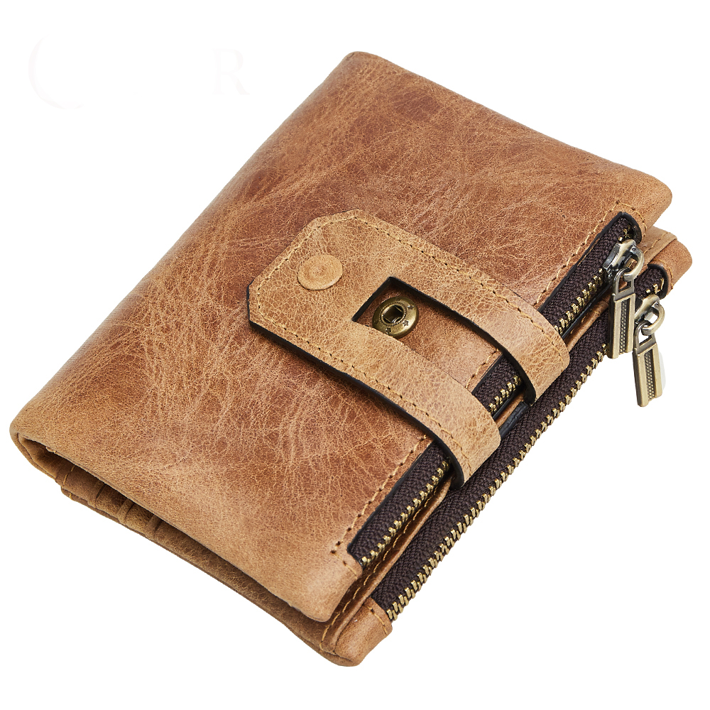 Brand New RFID Protecting Bank Male Card Wallets 2018 Guaranteed Genuine Leather Business Wallets Multi-Card Bit Mens Purse