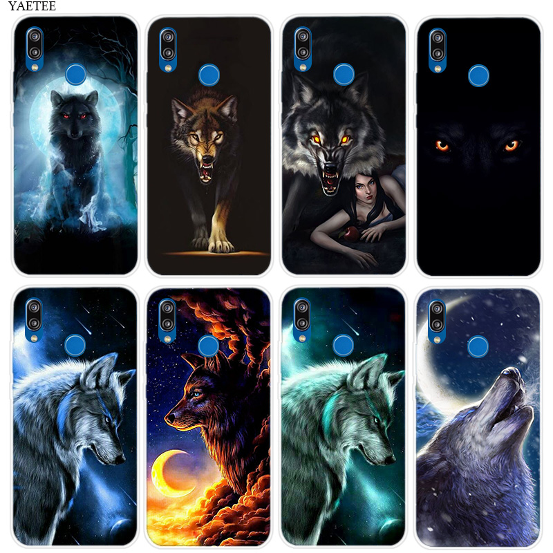Fierce Snow Wolf <font><b>Riverdale</b></font> <font><b>Case</b></font> For <font><b>Huawei</b></font> P30 P20 <font><b>Mate</b></font> 20 <font><b>10</b></font> Pro P10 P9 P8 <font><b>lite</b></font> Mini 2017 P Smart 2019 Nova 4 4e Shell image