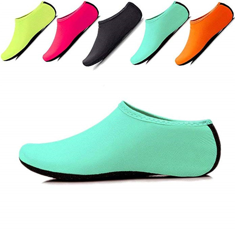 Unisex Diving Sock Barefoot Water Sports Skin Shoes Aqua Sock Snorkeling Seaside Swimming Pool Non-slip Sock Anti-skid Yoga Shoe