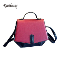 RanHuang 2017 Latest Small Handbags Casual Flap Women S PU Leather Shoulder Bags Designer Crossbody Bags