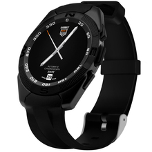No. 1 g5 smart watch mtk2502 smartwatch pulsmesser fitness tracker pedometer anruf sms erinnerung kamera für android ios