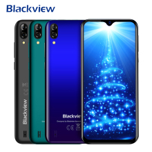 Blackview A60 Smartphone 4080mAh Android 8.1 1GB RAM 16GB ROM Quad Core 19:9 6.1 Inch Dual Sim 13MP 5MP Camera 3G Mobile Phone
