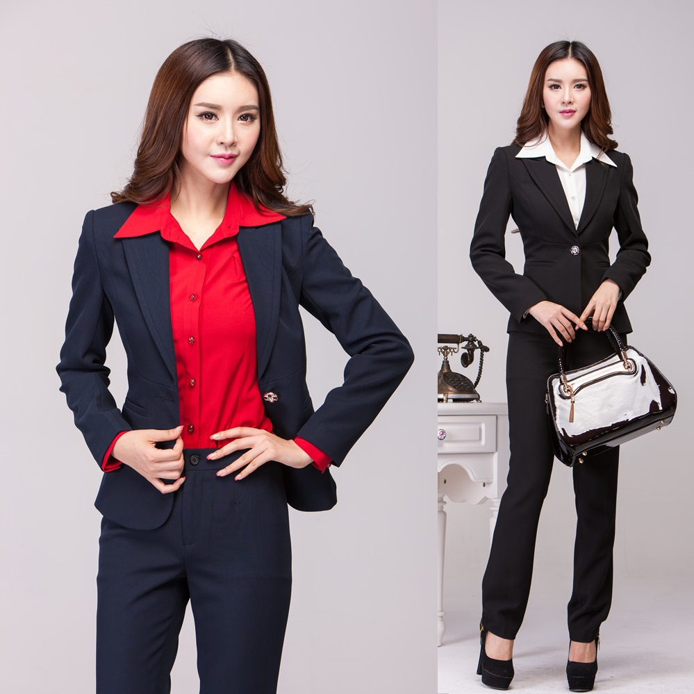 Online buy wholesale professional office uniforms from for Bureau uniform