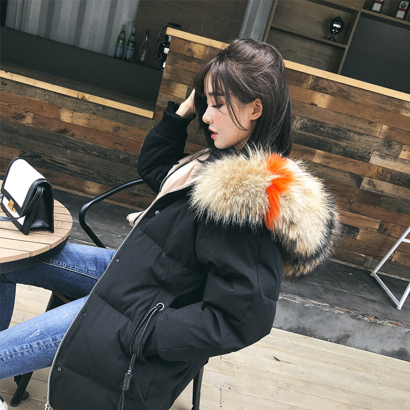 Maternity Winter Coats Pregnant Women Duck Down Jackets Casual Thicken Solid Parkas Fur Collar Hooded Outwear стоимость