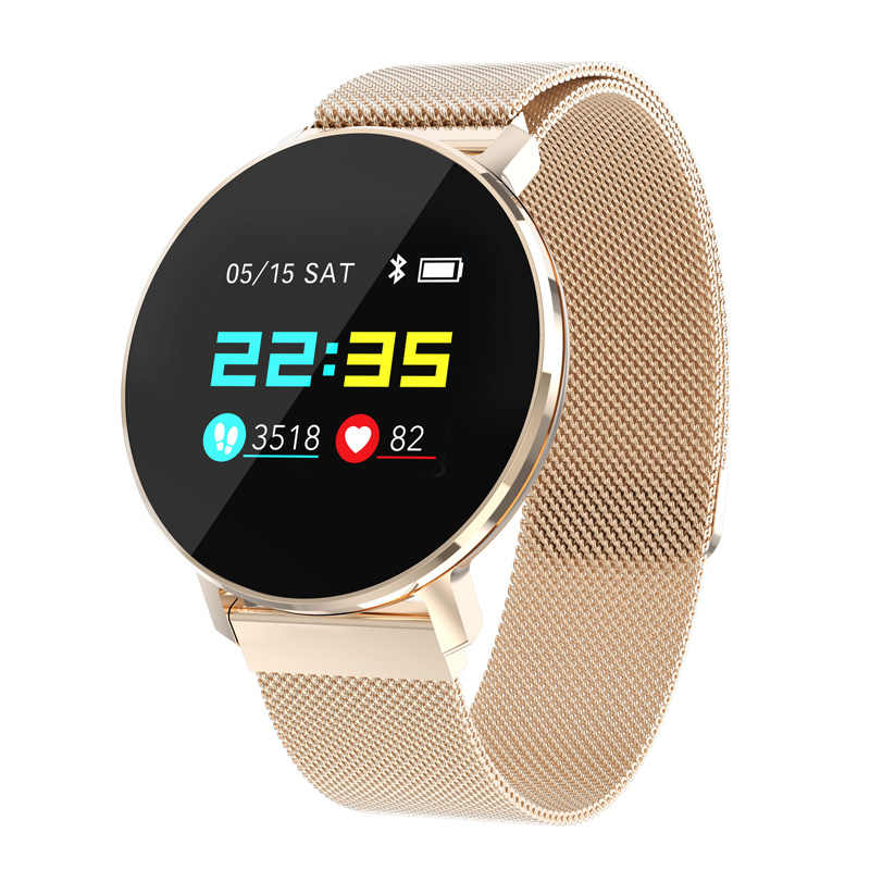 Super Slim Smart Watch Android IOS Heart Rate Steel Smart Bracelet Fitness Tracker Men Women Blood Oxygen Waterproof smartwatch
