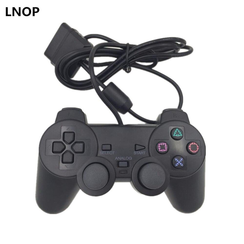 LNOP Verdrahtete Gamepad für PS2 controller Sony Playstation 2 joystick ps2 konsole Doppel Vibration Schock Joypad Pad verdrahtete gamepad