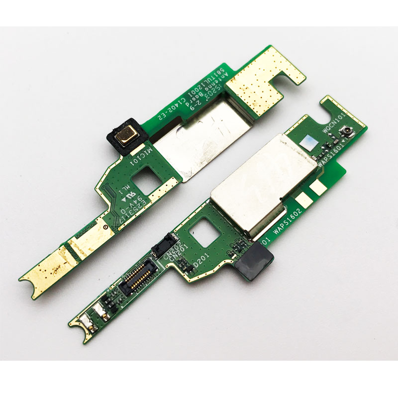 New Original For Sony Xperia M4 Aqua Antenna Singal Mic Microphone PCB Board Flex Ribbon Cable  Replacement Parts