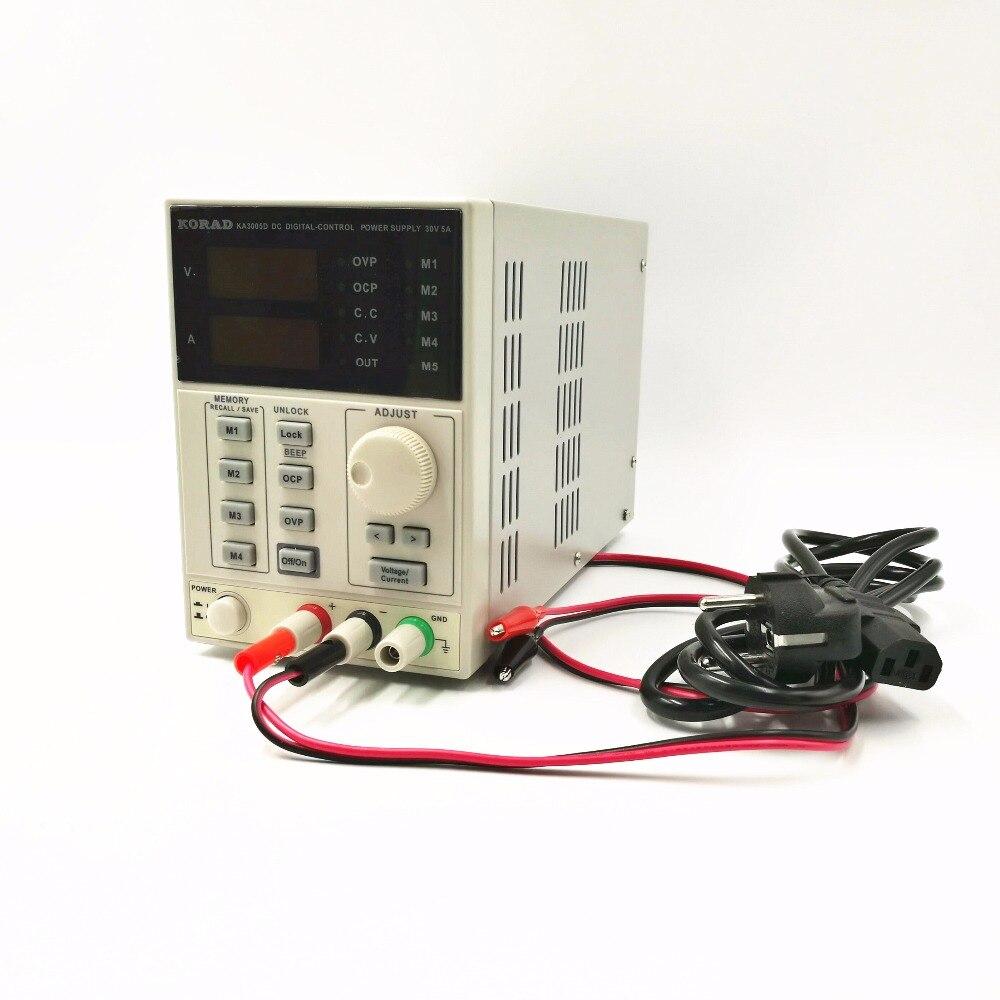KA3005D Précision Réglable Numérique Programmable DC alimentation Laboratoire alimentation 30 V 5A service Laboratoire 0.01 V 0.001A