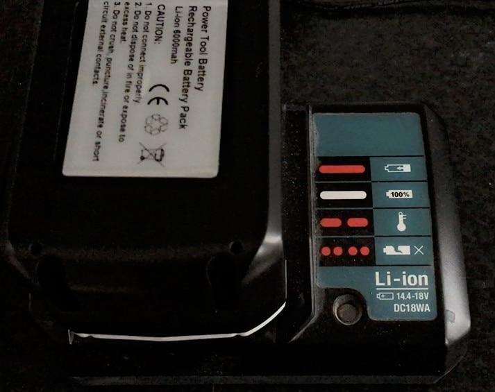 New 18V 6000mAh Battery For Makita BL1813G DF457D HP457D JV183D TD127D UR180D UH522D CL183D Power Tool цены