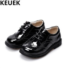 NEW Spring/Autumn Children Shoes Boys Genuine Leather Student Shoes Baby Toddler Casual Flats Oxfords Kids Leather Shoes 044
