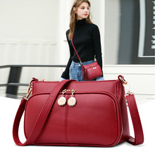 2019 New Crossbody Bags for Women Soft Leather Purses and Handbags Designer Ladies Hand Bag Female Shoulder Bag Sac A Main Femme