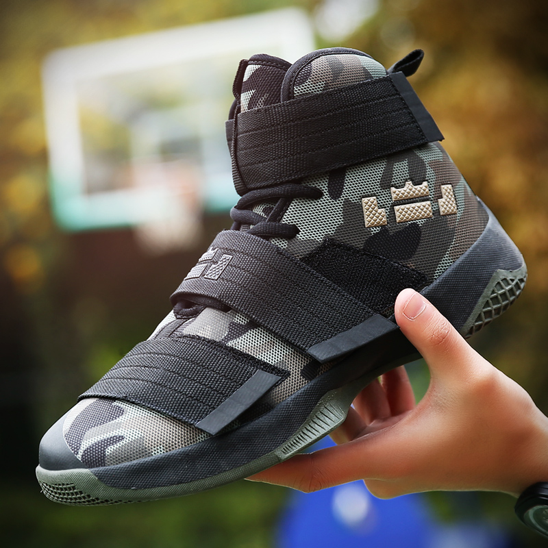 Lovers Sneakers Men Brands Camouflage Basketball Shoes Women