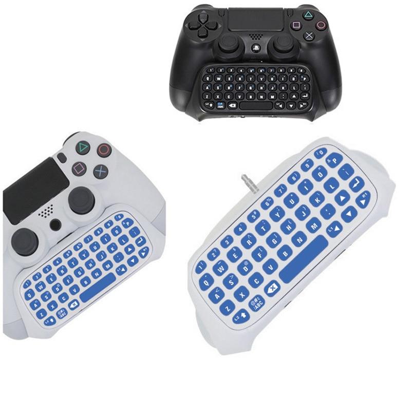 PS4 PS 4 Message Keyboard Wireless Mini Chatpad KeyPad