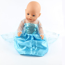 The new 2016doll clothes Wear fit 43cm Baby Born zapf Children best Birthday Gift(only sell clothes)m25