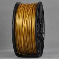 ABS GOLD 3d Printer filament 1.75 mm plastic spool 1 kg