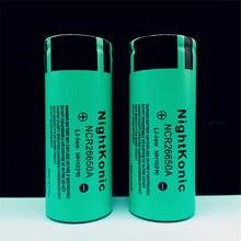 цена High Quality  Nightkonic 8 Pieces  26650  Battery 3.7V 5000mAh Li-ion Rechargeable Battery For LED Flashlight Torch онлайн в 2017 году