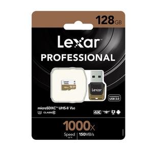 Image 5 - Ursprüngliche Lexar tarjeta Micro SD Karte 128GB UHS II U3 Max 150 MB/s auto TF Speicher karten Klasse 10 für Drone Sport Camcorder