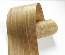 2Pieces/Lot  2.5Meter Width:18cm  Thickness:0.2mm  Solid Wood Veneer loudspeaker Kin