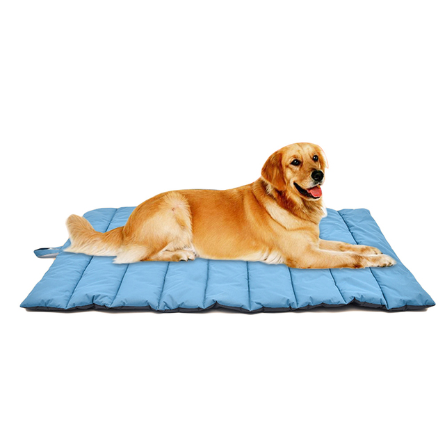 Large Dogs Bed Mat Outdoor Picnic Mats Waterproof Warm Pet Bed Blanket Multi Function Folding