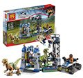 LELE 79180 Jurassic World Velociraptor Building Blocks Jurrassic Park 4 Dinosaur Bricks Toys jurassic world With legoe