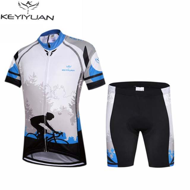 placeholder Hot KEYIYUAN Children Cycling Bike Jersey Shorts Sets Kids Cycling  Clothing Team Bicycle ciclismo Boys Girls e68f8ce52