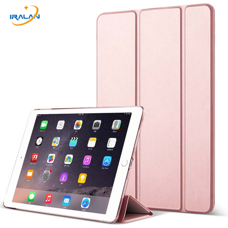 film+stylus Christmas Gift Tablet Accessories 2017 Hot Ultra Slim Smart Case For Ipad Pro 10.5 Inch Tri-fold Stand Sleep/wake Back Cover Wholesale
