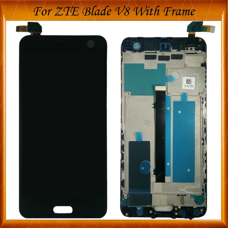 100 Tested Well For ZTE Blade V8 LCD Display Touch Screen Digitizer For ZTE Blade V8