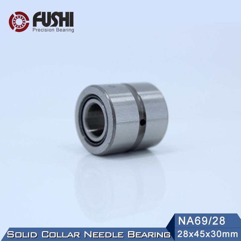 NA69/28 Bearing 28*45*30 mm ( 1 PC ) Solid Collar Needle Roller Bearings With Inner Ring 65349/28 62549/28 Bearing bk5020 needle bearings 50 58 20 mm 1 pc drawn cup needle roller bearing bk505820 caged closed one end 55941 50