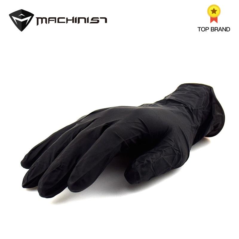100pcs Disposable Gloves Rubber Nitrile Non-slip Auto Car Repair Gloves Acid Alkali Resistance Oil-proof Waterproof Glove