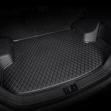 HeXinYan カスタム車のトランクマット三菱すべてのモデル ASX アウトランダーパジェロ cw4w ランサースポーツギャランランサー ex
