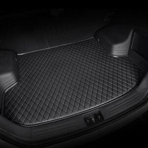 Image 1 - HeXinYan Custom Car Trunk Mats for Mitsubishi All Models ASX outlander pajero grandis pajero sport lancer galant Lancer ex