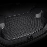 HeXinYan Custom Car Trunk Mats for Mitsubishi All Models ASX outlander pajero grandis pajero sport lancer galant Lancer ex