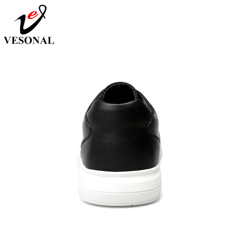 Black Travail Cuir Shoes Au white Mode Automne Pour Sécurité Chaussures Printemps En D'affaires De Véritable 2018 Shoes Mocassins Hommes Vesonal afET7qwU