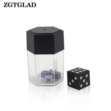 ZGTGLAD 1pcs Magic Big Explode Explosion Dice Close Up Trick Joke Prank Toy Party Gifts Party Favors(China)